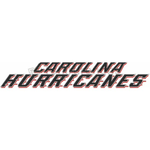 Carolina Hurricanes T-shirts Iron On Transfers N105