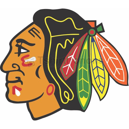 Chicago Blackhawks T-shirts Iron On Transfers N112