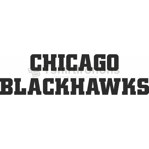 Chicago Blackhawks T-shirts Iron On Transfers N113