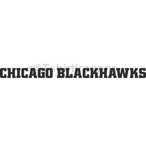 Chicago Blackhawks T-shirts Iron On Transfers N114