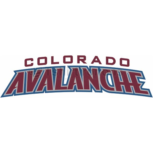 Colorado Avalanche T-shirts Iron On Transfers N116