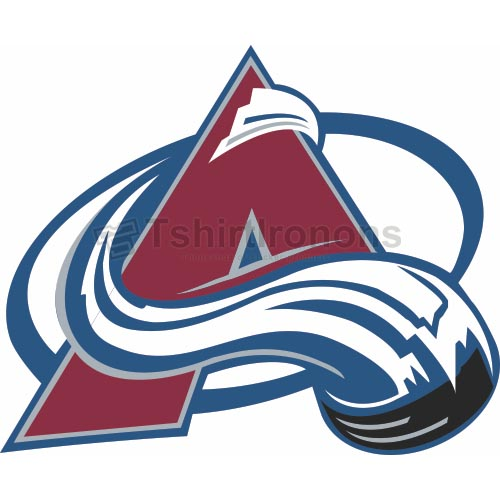 Colorado Avalanche T-shirts Iron On Transfers N118