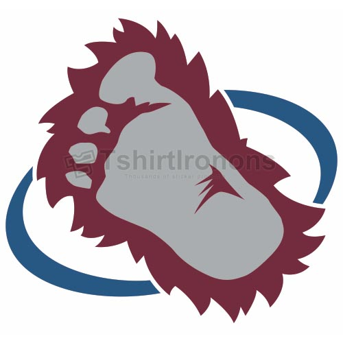 Colorado Avalanche T-shirts Iron On Transfers N120