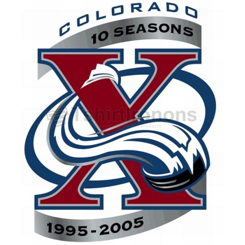 Colorado Avalanche T-shirts Iron On Transfers N121