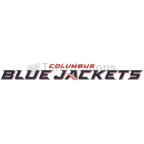 Columbus Blue Jackets T-shirts Iron On Transfers N123