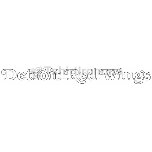 Detroit Red Wings T-shirts Iron On Transfers N137