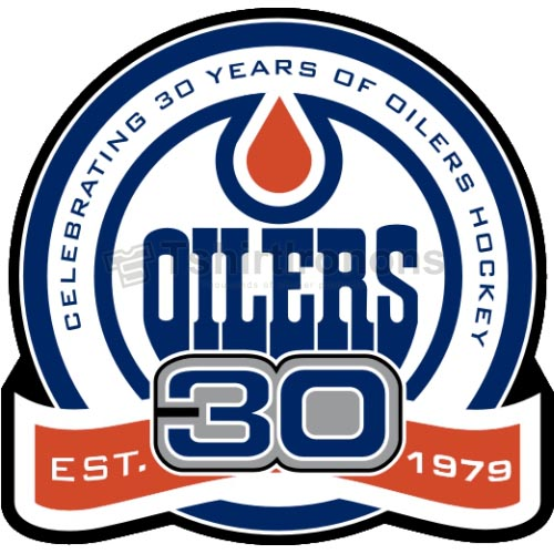 Edmonton Oilers T-shirts Iron On Transfers N153