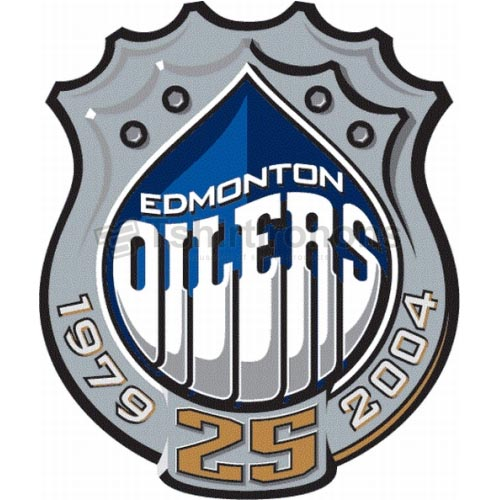 Edmonton Oilers T-shirts Iron On Transfers N154