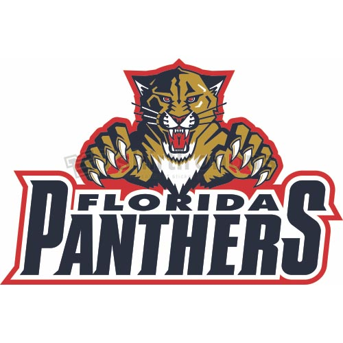 Florida Panthers T-shirts Iron On Transfers N159
