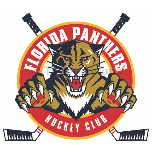 Florida Panthers T-shirts Iron On Transfers N162