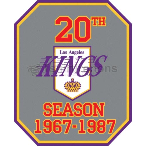 Los Angeles Kings T-shirts Iron On Transfers N179