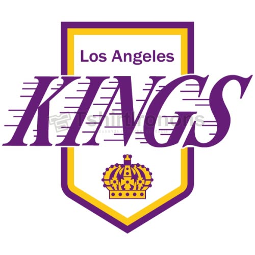 Los Angeles Kings T-shirts Iron On Transfers N180