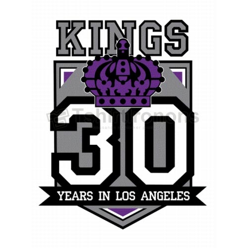 Los Angeles Kings T-shirts Iron On Transfers N183