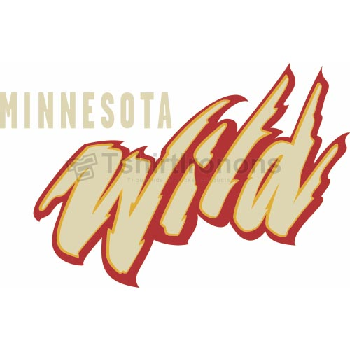 Minnesota Wild T-shirts Iron On Transfers N191
