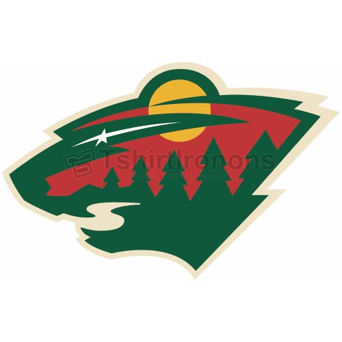 Minnesota Wild T-shirts Iron On Transfers N193