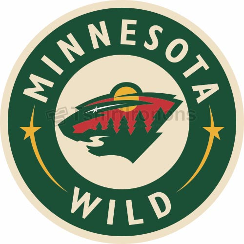 Minnesota Wild T-shirts Iron On Transfers N194
