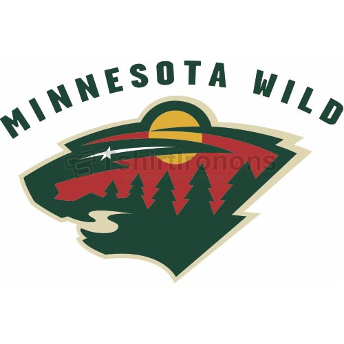 Minnesota Wild T-shirts Iron On Transfers N196