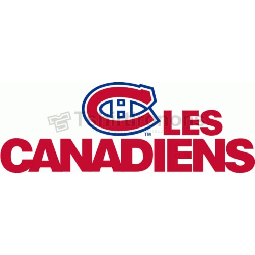 Montreal Canadiens T-shirts Iron On Transfers N201