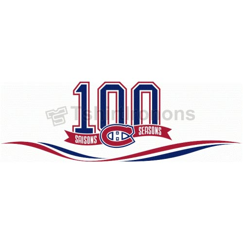 Montreal Canadiens T-shirts Iron On Transfers N205