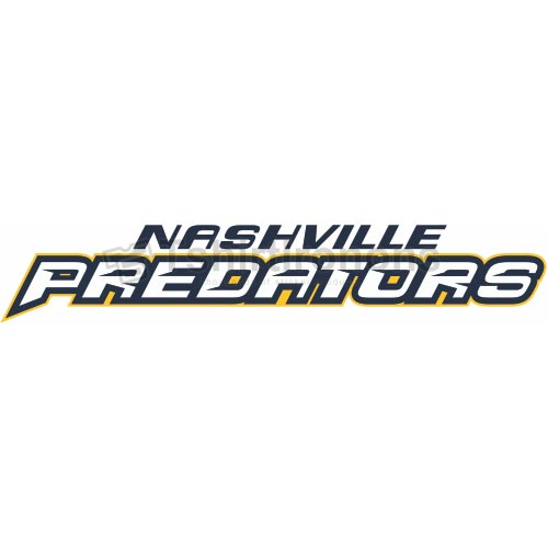 Nashville Predators T-shirts Iron On Transfers N208