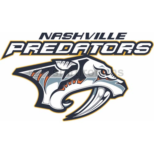Nashville Predators T-shirts Iron On Transfers N209