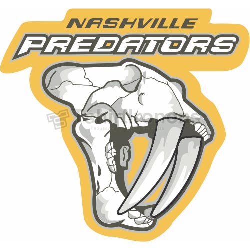 Nashville Predators T-shirts Iron On Transfers N212