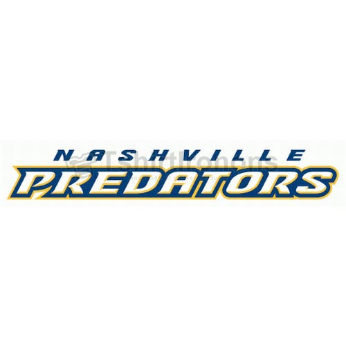 Nashville Predators T-shirts Iron On Transfers N216
