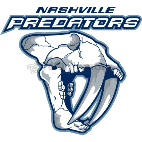Nashville Predators T-shirts Iron On Transfers N221
