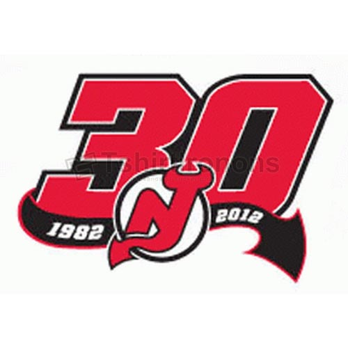 New Jersey Devils T-shirts Iron On Transfers N225