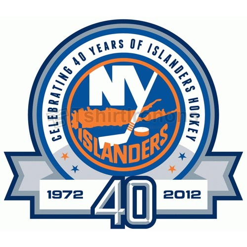 New York Islanders T-shirts Iron On Transfers N234