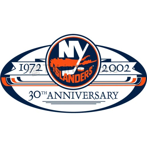 New York Islanders T-shirts Iron On Transfers N235