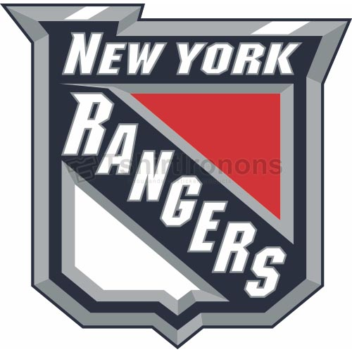 New York Rangers T-shirts Iron On Transfers N246