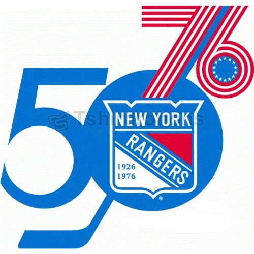 New York Rangers T-shirts Iron On Transfers N249