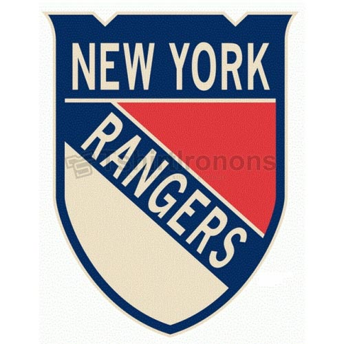 New York Rangers T-shirts Iron On Transfers N250
