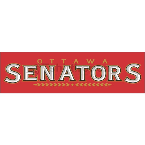 Ottawa Senators T-shirts Iron On Transfers N272