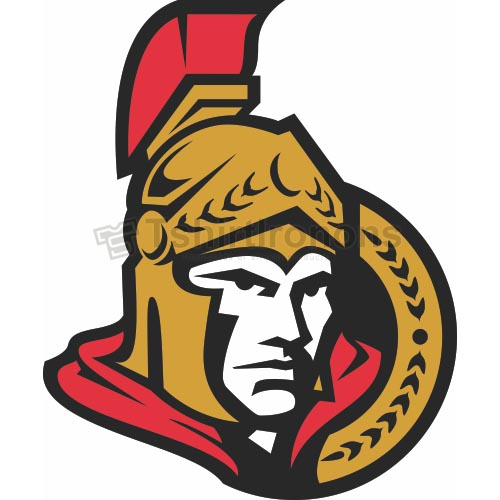 Ottawa Senators T-shirts Iron On Transfers N273