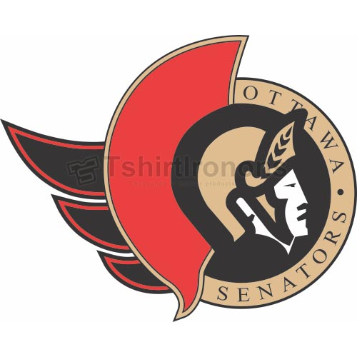 Ottawa Senators T-shirts Iron On Transfers N274