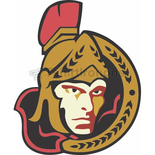 Ottawa Senators T-shirts Iron On Transfers N277