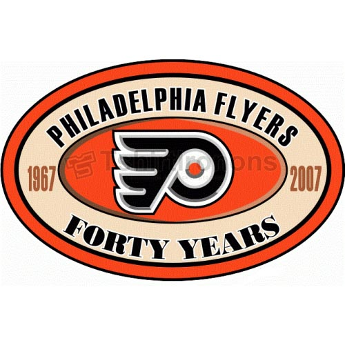 Philadelphia Flyers T-shirts Iron On Transfers N285