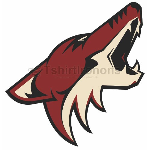 Phoenix Coyotes T-shirts Iron On Transfers N290