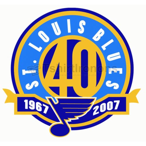 St.Louis Blues T-shirts Iron On Transfers N325