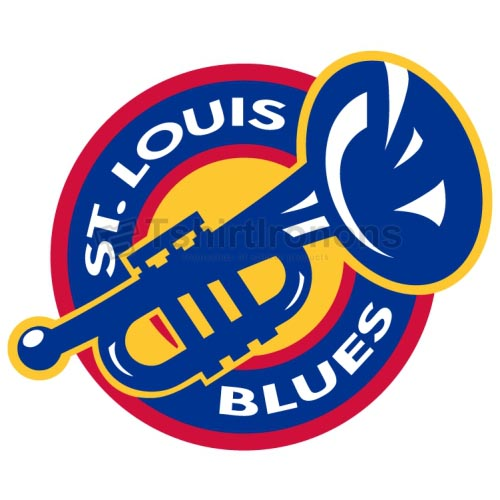 St.Louis Blues T-shirts Iron On Transfers N329