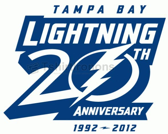 Tampa Bay Lightning T-shirts Iron On Transfers N332