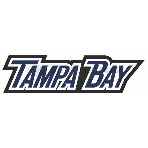 Tampa Bay Lightning T-shirts Iron On Transfers N333