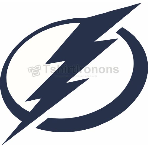 Tampa Bay Lightning T-shirts Iron On Transfers N334