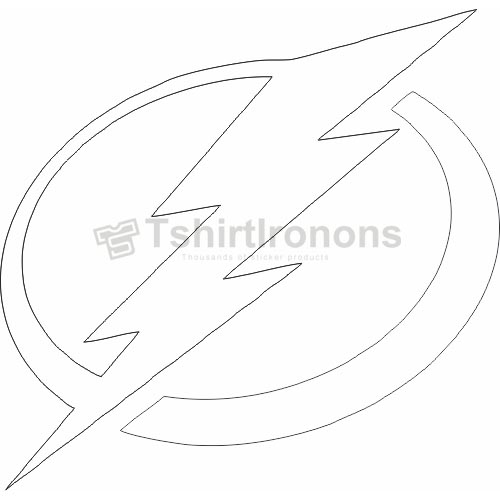 Tampa Bay Lightning T-shirts Iron On Transfers N338
