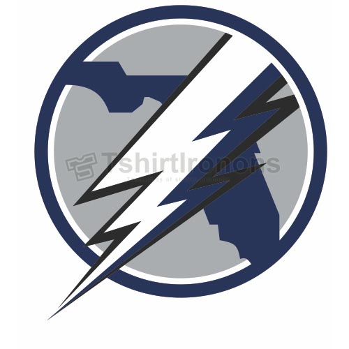 Tampa Bay Lightning T-shirts Iron On Transfers N339