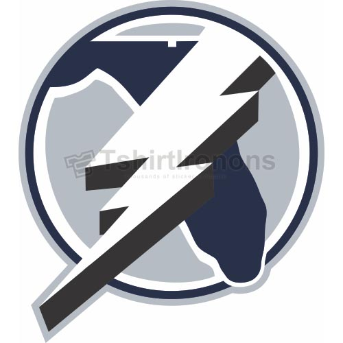 Tampa Bay Lightning T-shirts Iron On Transfers N340