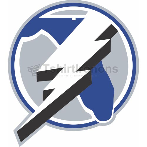 Tampa Bay Lightning T-shirts Iron On Transfers N341