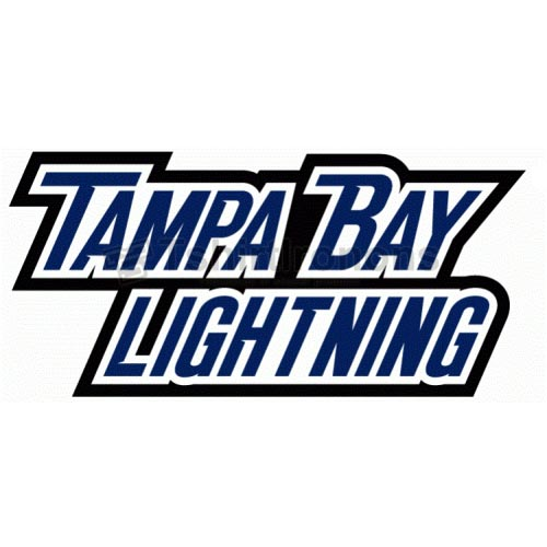 Tampa Bay Lightning T-shirts Iron On Transfers N342